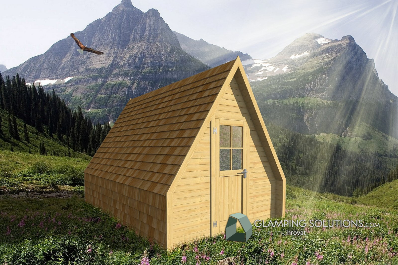 Glamping Alpine Hut