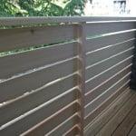 Balkon Jesenice sibirski macesen detajl 2