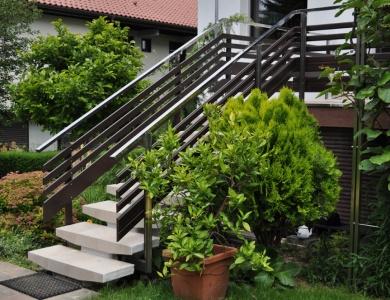 Balkon Ljubljana stopnice