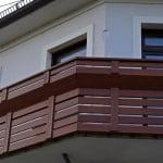 Balkon Pšata detajl