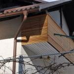 Balkonska ograja Gunclje druga stran
