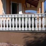 Balkonska ograja Primorska stran