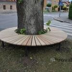 Drevesna klop stob 2