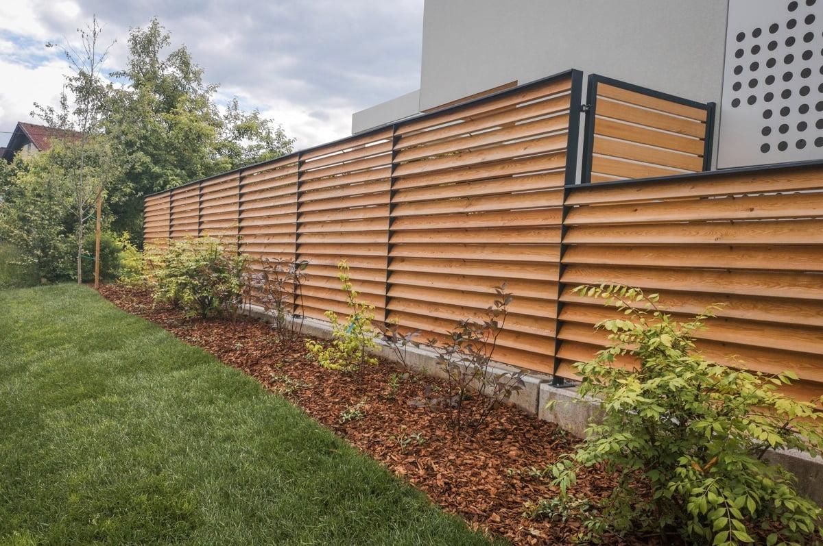 Lesene vrtne ograje