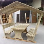 Impregnacija lesa garnitura