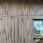 Lesena fasada Crnomelj spredaj