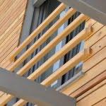 Lesena fasada Baselj okno