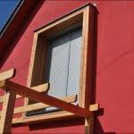 Lesena fasada Dolsko okno