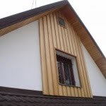 Lesena fasada Hotic detajl okna
