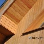 Lesena fasada Kranjska Gora 2 detajl 2