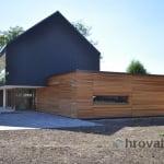 Lesena fasada Lavrica 2 od strani
