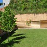 Lesena fasada Lavrica ograja