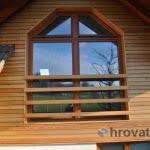 Lesena fasada Nova vas okno