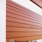 Lesena fasada Smartno detajl 2