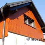 Lesena fasada Smartno od spodaj