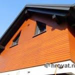 Lesena fasada Smartno vec oken