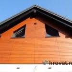 Lesena fasada Smartno zadaj