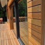 Lesena fasada Sredisce ob Dravi detajl