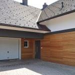 Lesena fasada Sredisce ob Dravi garaza
