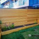 Lesena fasada z gredicami