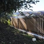 Lesena ograja Cikava vrt