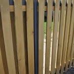 Lesena ograja Radovljica detajli