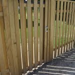 Lesena ograja Radovljica vrata