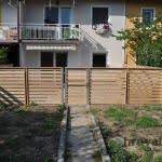 Lesena ograja ljubljana 4 vrt