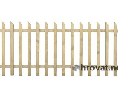 Lesena panelna ograja z razmikom 85mm