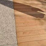 Lesena terasa Črnuče