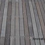 Lesena terasa Celje detajl 1