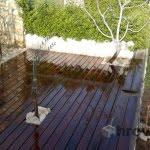 Lesena terasa Pag z desne