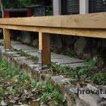 Lesena terasa Pirnice podkonstrukcija