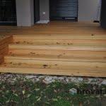 Lesena terasa Pirnice stopnice