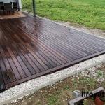 Lesena terasa Predvor