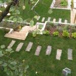 Lesena terasa idrija detajli