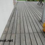 Lesena terasa vodice detajli