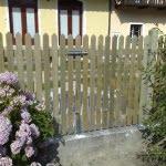 Lesena vrata ograja Kamnik