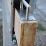 Lesena zapornica 9