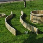 Lesene vrtne stezice