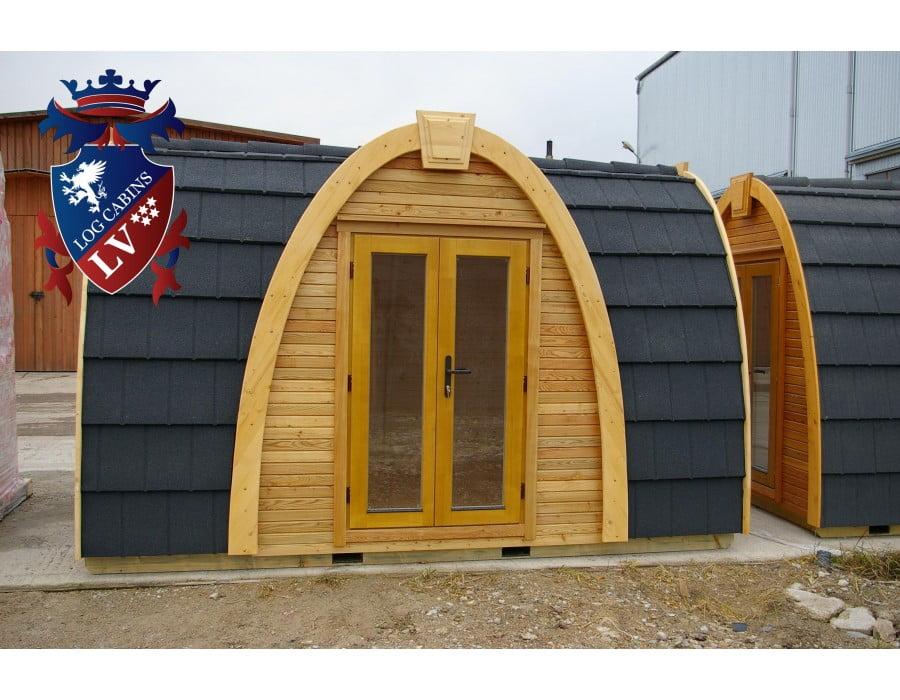 Leseni bungalovi POD