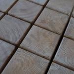 Leseni tlakovci iz sibirskega macesna 5