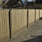 Obnova lesene ograje Ljubljana