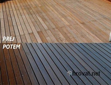 Obnova lesenih teras in podestov