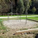 Obnova opreme na igrišču