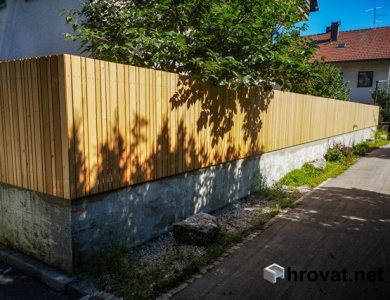 Ograja Ljubljana Šiška po dolzini