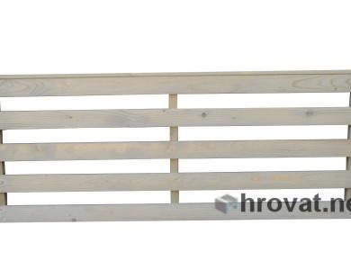Ograja 2 horizontalna - panelna