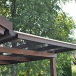 Pergola Skofljica streha