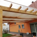 Pergola Vrhnika detajl strehe