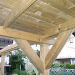 Pergola garazni nadstresek streha